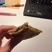 红豆核桃香蕉软煎饼