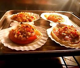 唯有美食不可辜负~香喷喷的烤元贝的做法