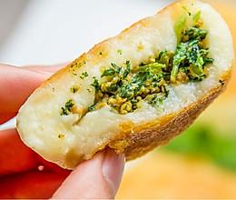 马兰头土豆糯米饼的做法