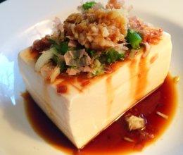 日式冷豆腐的做法