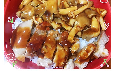 日式照烧鸡肉饭