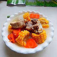 胡萝卜玉米排骨汤的做法图解11