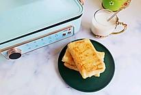 五分钟快手早餐火腿鸡蛋手抓饼的做法