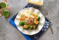 #安佳儿童创意料理#黄油肉松拌饭的做法
