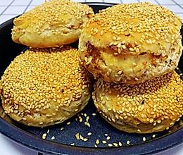 外酥里嫩又多层的芝麻烧饼的做法