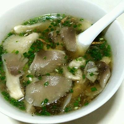 平菇碎肉汤