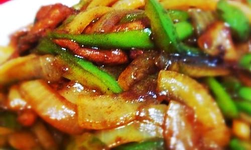 椒汁青椒洋葱牛柳的做法