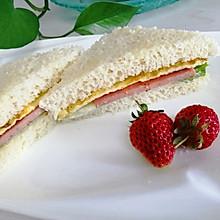#夏日消暑,非它莫属#早餐三明治