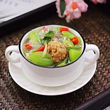 #春季减肥,边吃边瘦#丝瓜肉丸粉丝煲