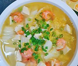 #饕餮美味视觉盛宴#家乐浓汤宝娃娃菜虾仁豆腐的做法