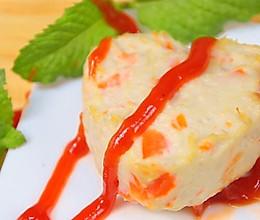 胡萝卜莲藕鸡块 宝宝辅食,胡萝卜+鸡胸肉+莲藕的做法
