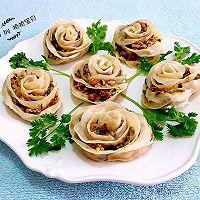 玫瑰蒸饺#我买新鲜味#的做法图解14