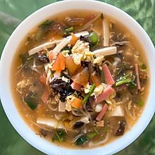 黑椒酸辣汤