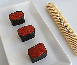 鱼子酱军舰寿司的做法