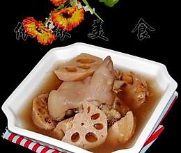 猪脚莲藕汤【亚运美食】的做法