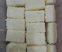 椰丝奶油小方糕的做法
