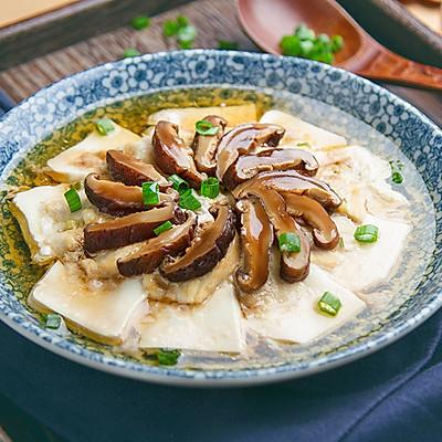 香菇豆腐蒸鸡片