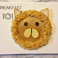 儿童早餐—狮子吐司的做法图解6