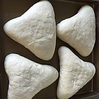 欧式风格的叶子状三角豆沙包,馅料超级足的做法图解15
