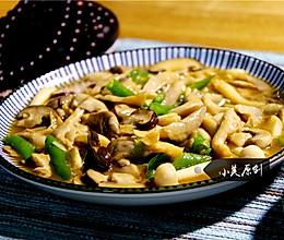 清淡的下饭菜炒菌菇的做法