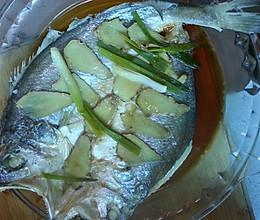 清蒸脱脂黄鱼的做法
