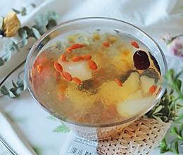 #快手又营养,我家的冬日必备菜品#美容养颜之桃胶雪燕雪梨羹的做法