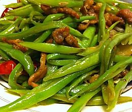 芸豆丝炒肉的做法