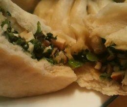 香菇豆干素菜包的做法