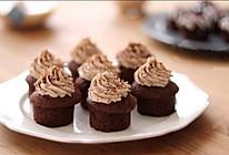 奶油栗子巧克力杯子蛋糕的做法