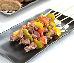 彩椒羊肉串 #春天肉菜这样吃!#的做法