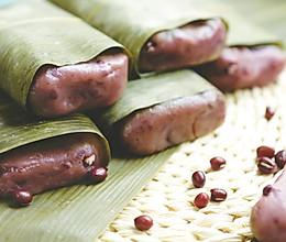 秋日暖心糕点,相思红豆蒸年糕的做法