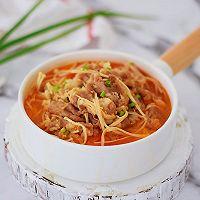 #网红美食我来做#番茄金针菇肥牛的做法图解11