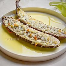 #秋天怎么吃#芝士焗香蕉