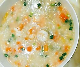 海鲜粥(家庭版)的做法