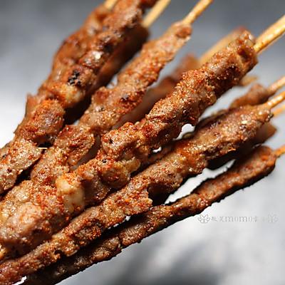 嫩烤羊肉串