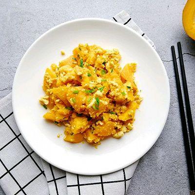 蛋黄南瓜新烧法~提升健康营养新高度!