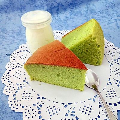 菠菜戚风蛋糕