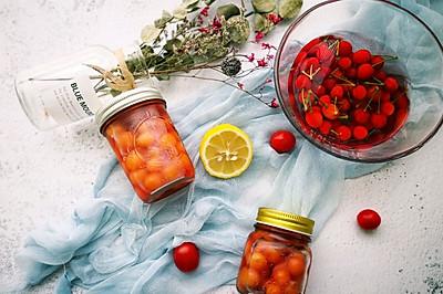 #带着零食去旅行!#快手樱桃罐头清凉解暑