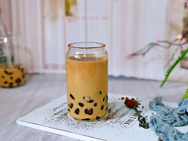 自制咖啡珍珠奶茶