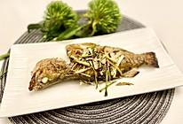 香煎桂花鱼的做法