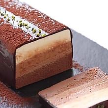 三层巧克力芝士蛋糕