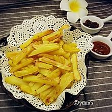 健康烤薯条