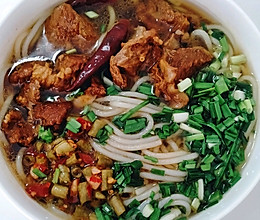 #中秋团圆食味#云南清真牛肉米线的做法