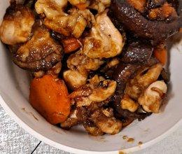 爆炒鸡翅根香菇少油的做法