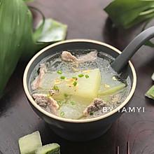 """#""""果""""然有道#冬瓜瘦肉汤"""