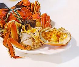 秋食|清蒸大闸蟹的做法