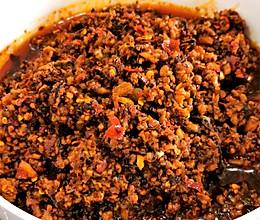 只需一勺面条变得十分美味【香辣猪肉臊子】的做法