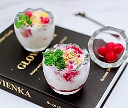 #轻饮蔓生活#自制蔓越莓冰酸奶(内附酸奶做法)的做法
