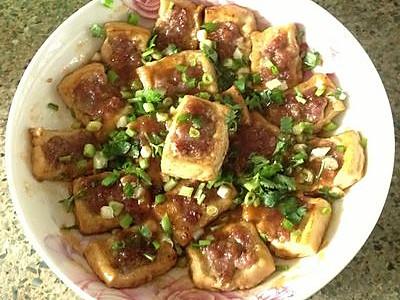 酿豆腐角的做法