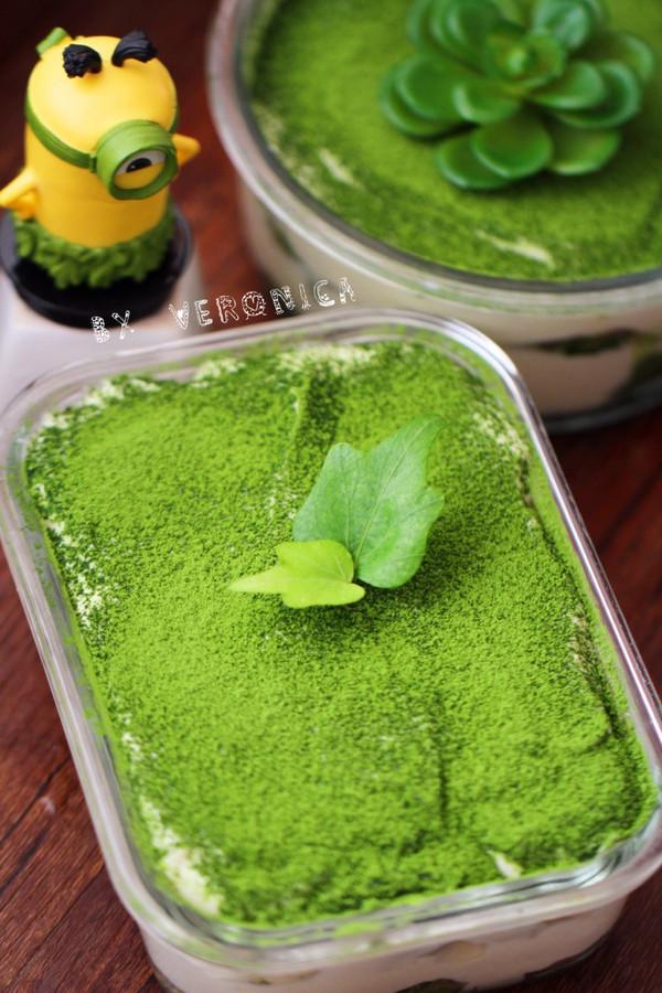 抹茶提拉米苏(免烤版)的做法
